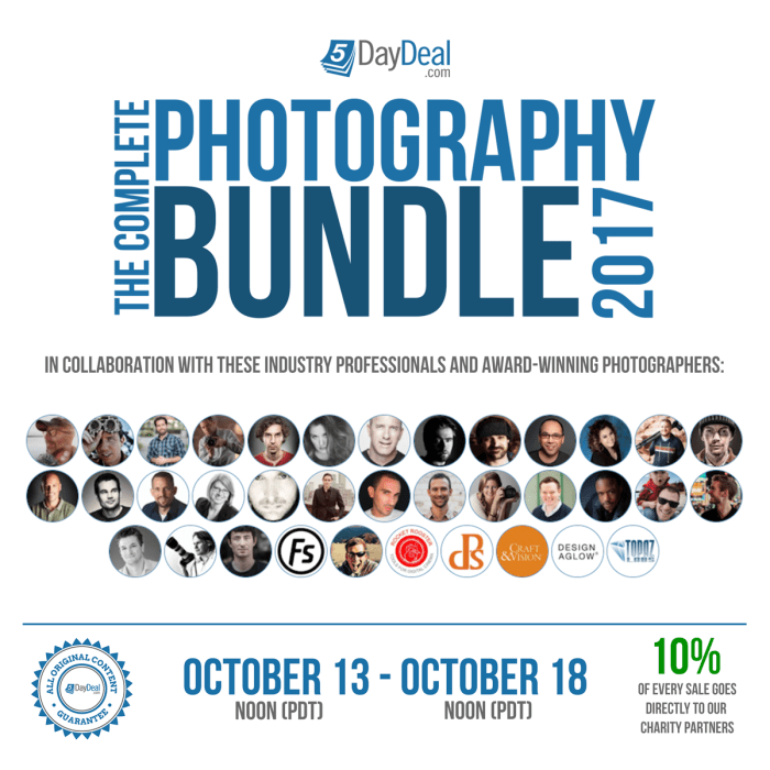 The best photography deal in the world