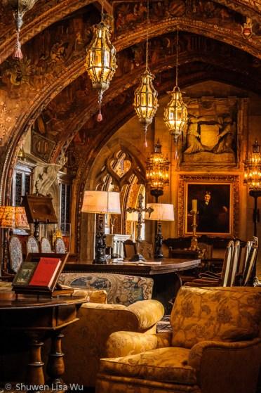 Room at Hearst Castle, near San Simeon, CA.
