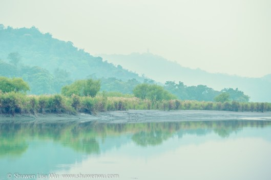 Dreamy Shores of Sun Moon Lake, Nantou County, Taiwan.