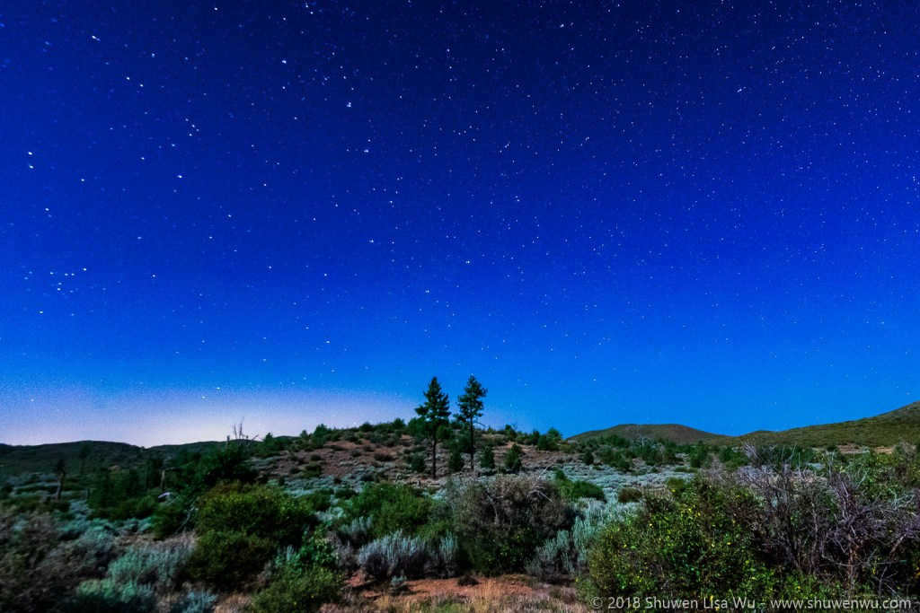 Moonlight Night at Mt. Laguna