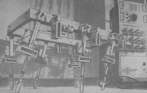 Walking machine of M. Petternella