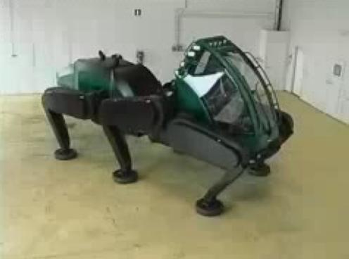 Шагающий комбайн Plusjack