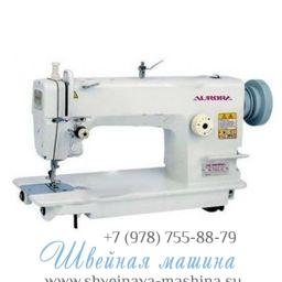 Прямострочная промышленная швейная машина с игольным продвижением A-721-3 Aurora 1