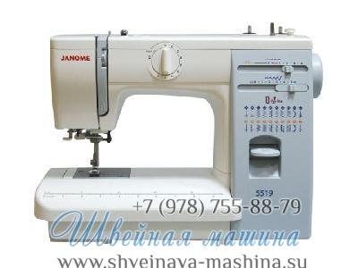 Швейная машина Janome 419 S / 5519 1