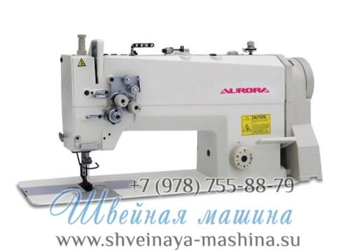 Двухигольная промышленная швейная машина AURORA A-842-03 1