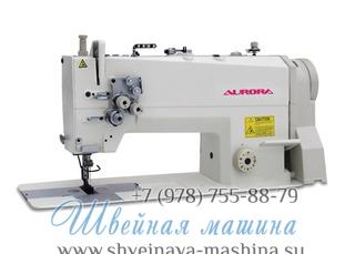 Двухигольная промышленная швейная машина AURORA A-842D-03 с прямым приводом 1