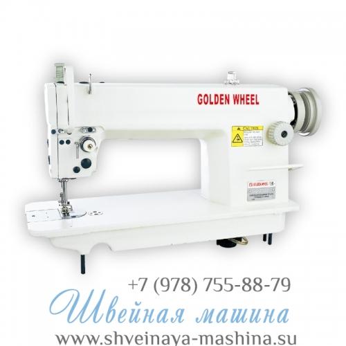 Прямострочная промышленная швейная машина с игольным продвижением GOLDEN WHEEL CS-7500-5 1