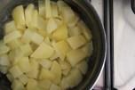 תפוחי אדמה בחמאה, רגע לפני שנהפכו לפירה