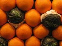 תפוזים, שוק לה בוקריה, ברצלונה