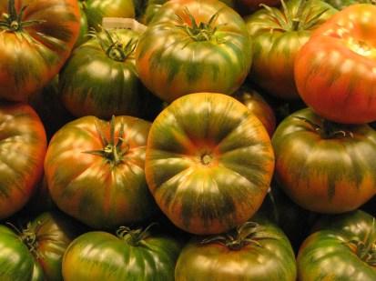 עגבניות, שוק לה בוקריה, ברצלונה