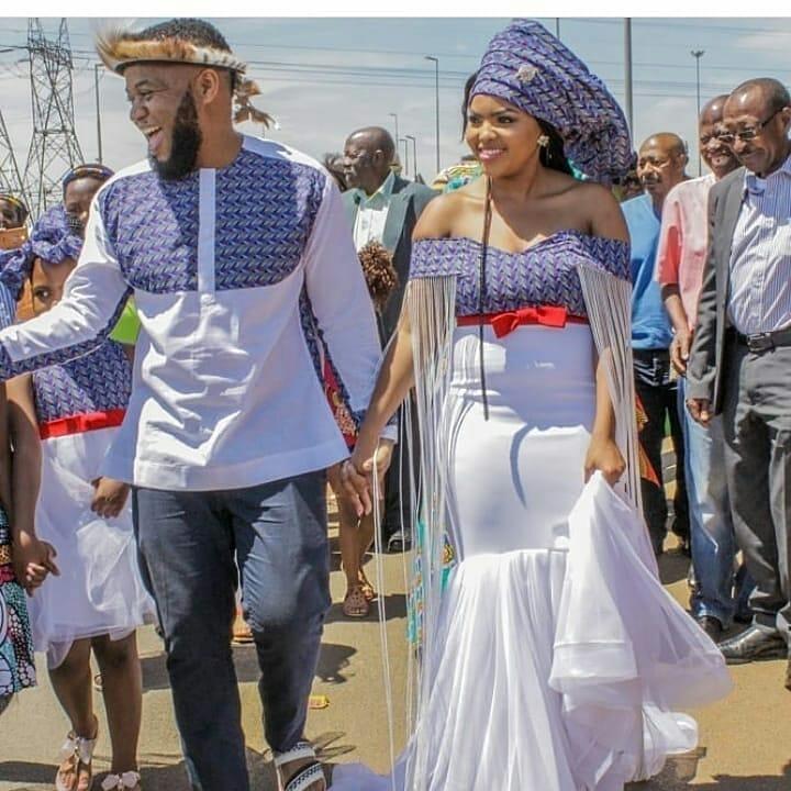 Traditional Shweshwe Dresses 2021 For Wedding (1)