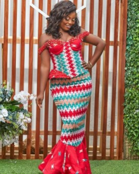 Latest Shweshwe Kente Fabric Styles 2021 (5)