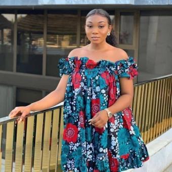 ANKARA SHORT DRESSES STYLE 2021 (11)