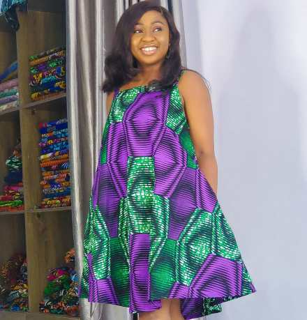 ANKARA SHORT DRESSES STYLE 2021 (2)