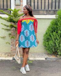 ANKARA SHORT DRESSES STYLE 2021 (5)