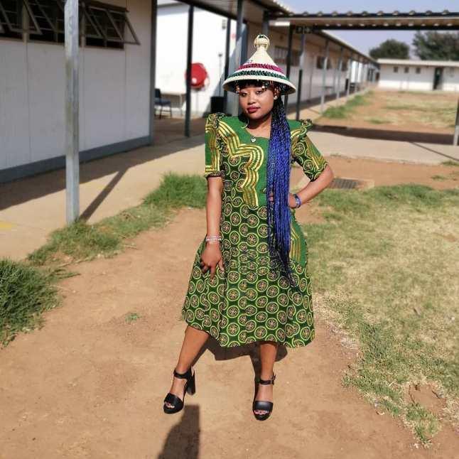 Dazzling Shweshwe Celebrity Native Attire 2021 (11)