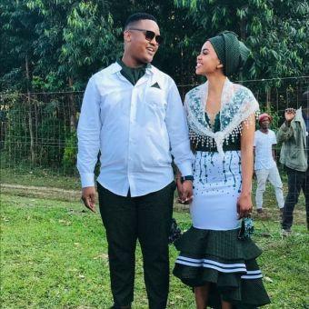 Dazzling Shweshwe Celebrity Native Attire 2021 (6)