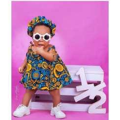 ANKARA FEMALE BABY DRESSES (12)