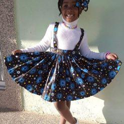 ANKARA FEMALE BABY DRESSES (4)