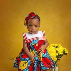 ANKARA FEMALE BABY DRESSES (5)