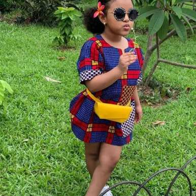 ANKARA FEMALE BABY DRESSES (7)
