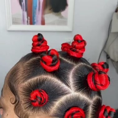BANTU KNOTS HAIR STYLES FOR WOMEN AND KIDS 2021 (1)