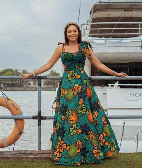 DAZZLING ANKARA LONG DRESSES COLLECTION 2021 (9)