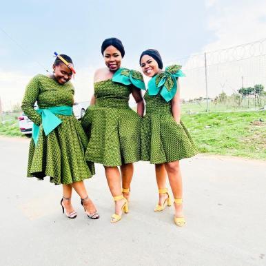Shweshwe Dresses (3)