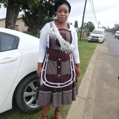 beautiful shweshwe dresses 2021 (14)