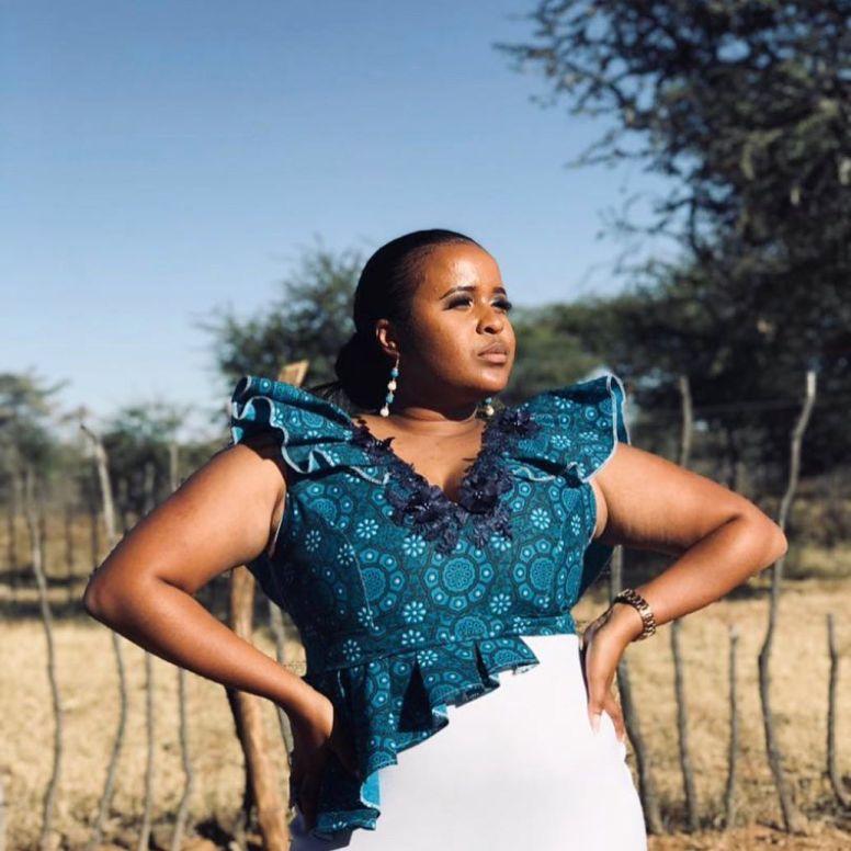 shweshwe dress designs 2021 (1)