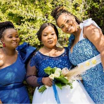 shweshwe traditional wedding dresses 2021 (2)