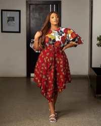 Stylish African Ankara Fashion Dresses 2021 (12)