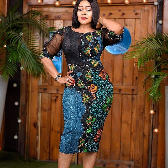 Stylish African Ankara Fashion Dresses 2021 (13)