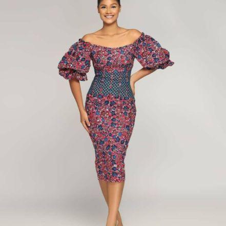 Stylish African Ankara Fashion Dresses 2021 (5)