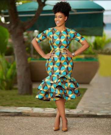 Stylish African Ankara Fashion Dresses 2021 (7)