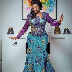 Latest Ankara Dresses For Wedding 2021 (5)