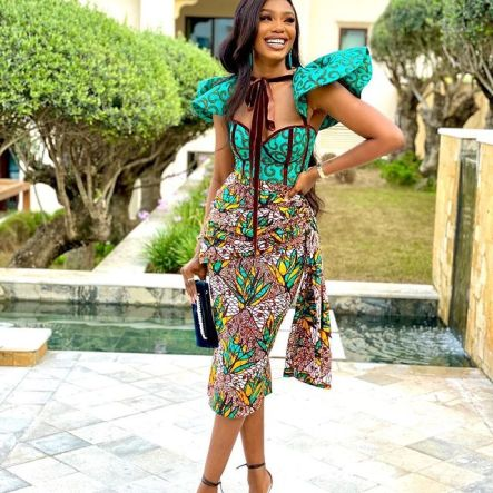 Amazing Ankara Dresses Gown Styles 2021 For Ladies (5)