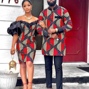 Amazing Ankara Dresses Gown Styles 2021 For Ladies (8)