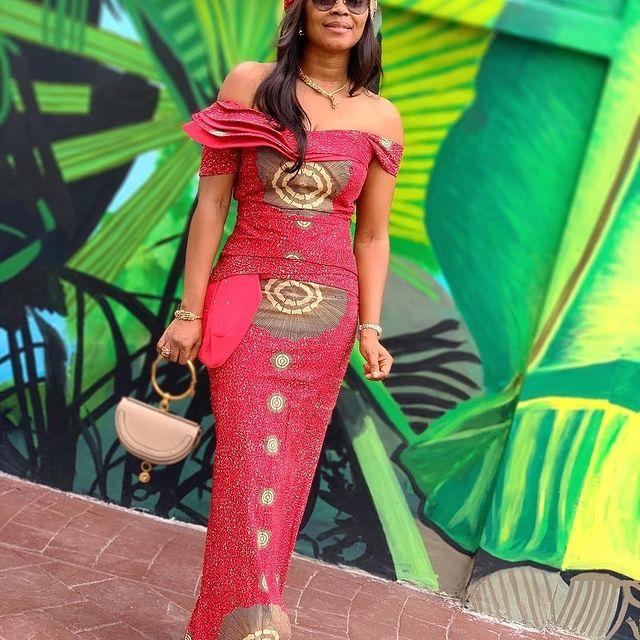 Amazing Ankara Gown Styles 2021 - Ankara (11)