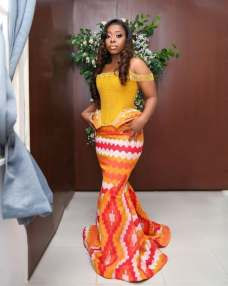 Awesome Traditional Kente Styles for Weddings 2021 (6)