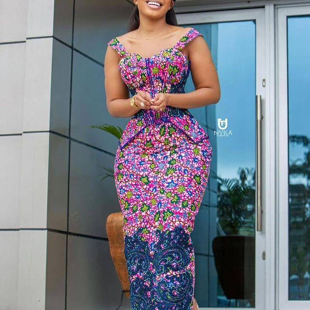 Best Ankara Gowns 2021 For Ladies (1)