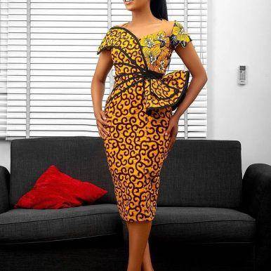 Best Ankara Gowns 2021 For Ladies (4)