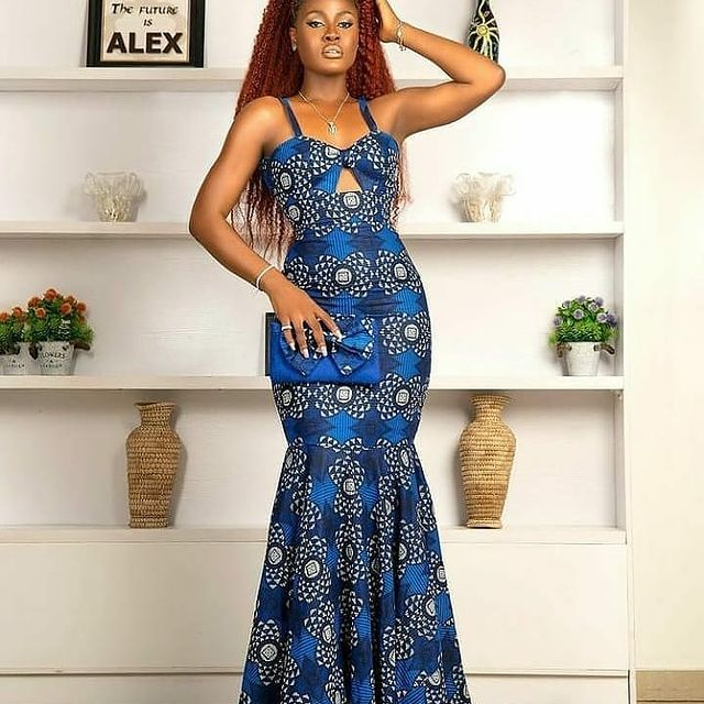Latest Ankara Styles 2021 For African Ladies (14)
