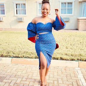 Perfect Traditional Shweshwe Dresses 2021 (10)