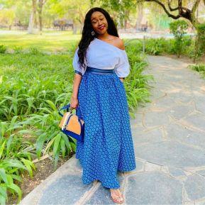 Perfect Traditional Shweshwe Dresses 2021 (12)