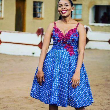 Perfect Traditional Shweshwe Dresses 2021 (14)