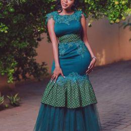 Perfect Traditional Shweshwe Dresses 2021 (7)