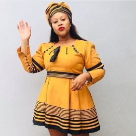 Stunning Xhosa Traditional Attires For African Ladies (10)