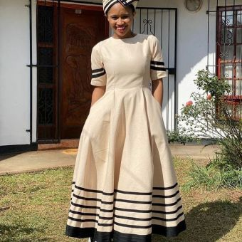 Stunning Xhosa Traditional Attires For African Ladies (2)