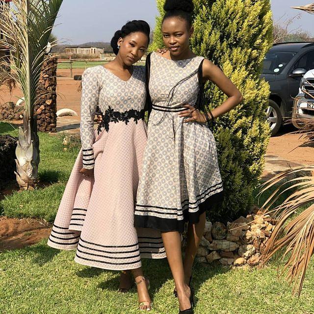 Traditional Shweshwe Dresses 2021 for Wedding (11)